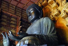 Grand Bouddha Nara Images libres de droits