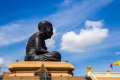 Grand Bouddha Wat Huay Mongkol Images libres de droits
