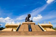 Grand Bouddha Wat Huay Mongkol Photographie stock