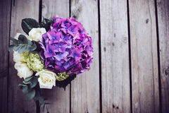 Grand bouquet des fleurs fraîches Images libres de droits