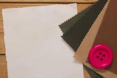 Grand bouton rouge Images libres de droits