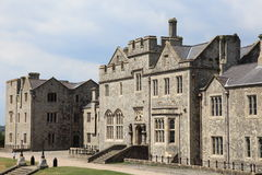 Grand British country house Royalty Free Stock Photos