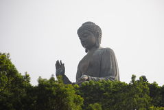 Grand buddah Photos libres de droits