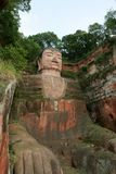 Grand Buddha statue in Leshan Royalty Free Stock Photography