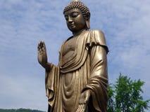 Grand Buddha statue at Lingshan Royalty Free Stock Photography