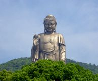 Grand Buddha statue at Lingshan Stock Photography