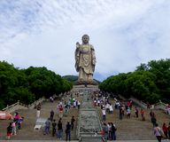 Grand Buddha statue at Lingshan Stock Photography
