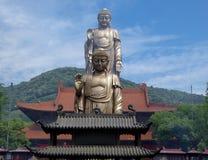 Grand Buddha statue at Lingshan Royalty Free Stock Photos
