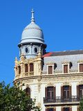 Grand Building, Plaza Ayuntamiento, Valencia Royalty Free Stock Images