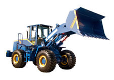 Grand buldozer photos libres de droits