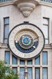 Grand cadran sur un bâtiment Photo libre de droits