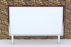 grand cadre 3D blanc avec le fond Photographie stock