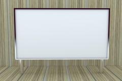 grand cadre 3D blanc avec le fond Photos stock