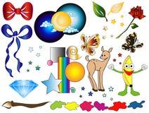 Grand cadre de dessins animés 3 [vecteur] photographie stock libre de droits