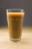 Grand café avec du lait Photographie stock libre de droits