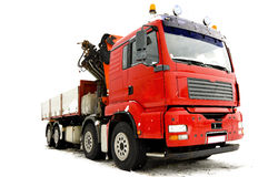 Grand camion Image stock