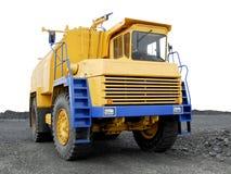 Grand camion liquide jaune Photographie stock