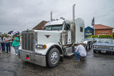 Grand camion, peterbilt Photos stock