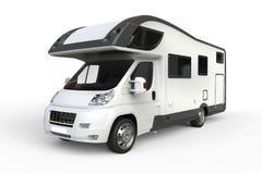 Grand camping-car blanc illustration libre de droits