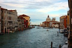Grand Canal Royalty Free Stock Photo