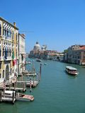 Grand Canal. Of Venice, Italy stock images