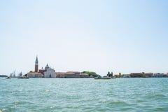 The Grand Canal and architecture in Venice, Italy. Chiesa di San Giorgio Maggiore Royalty Free Stock Photo
