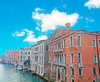 Grand Canal bank Royalty Free Stock Image
