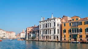 Grand Canal bank Stock Images