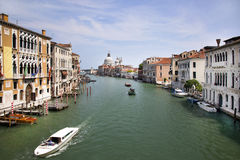 Grand Canal and Basilica Royalty Free Stock Photography