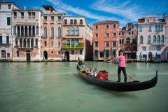 Grand Canal and Basilica Santa Maria della Salute Royalty Free Stock Images