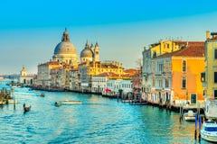 Basilica Santa Maria della Salute, Venice, Italy stock images