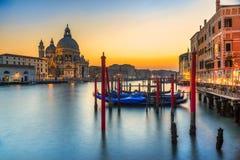 Basilica Santa Maria della Salute, Venice, Italy royalty free stock photo