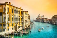 Basilica Santa Maria della Salute, Venice, Italy stock photo