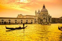 Basilica Santa Maria della Salute, Venice, Italy stock photography