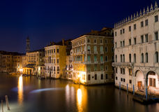 Grand Canal at the blue hour Royalty Free Stock Photo