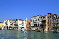 Grand Canal buildings Royalty Free Stock Image