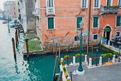 Grand Canal corner Royalty Free Stock Image