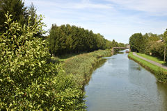 Grand canal dAlsace Stock Image