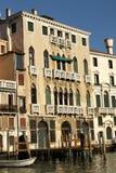 Grand Canal de Veneza e de suas construções Fotografia de Stock Royalty Free