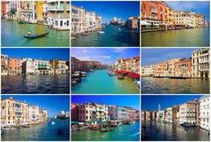 Grand Canal em Veneza fotografia de stock