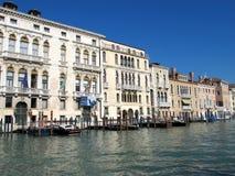 Grand Canal em Veneza, Itália fotografia de stock royalty free