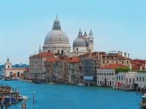 Grand Canal en Basiliek Santa Maria Royalty-vrije Stock Afbeeldingen
