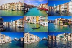 Grand Canal i Venedig arkivfoton