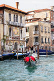 Grand Canal i Venedig Royaltyfri Fotografi