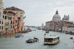 Grand Canal i Venedig Royaltyfria Bilder