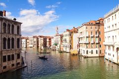 Grand Canal Italy Royalty Free Stock Image
