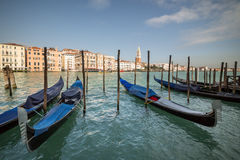 Grand canal near square San Marco, Venice, Italy Stock Photo