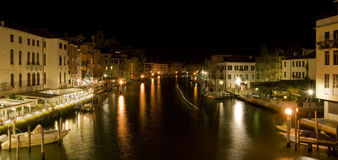 Grand Canal Panorama Royalty Free Stock Photography