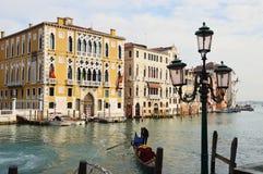 Grand Canal pendant le matin Image libre de droits