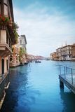 Grand canal from pier Stock Images